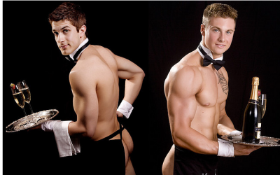Topless-waiters